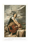 Joan of Arc, the Maid of Orleans, 15th Century French Patriot and Martyr, Mid 19th Century Giclee Print by Francois Leon Benouville