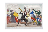 The Exile Restored..., 1820 Giclee Print by William Heath