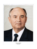 Mikhail Gorbachev, Leader of the Soviet Union, 1985 Giclee Print