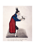 Caricature of Sir John Key, C1830 Giclee Print by Charles Jameson Grant