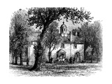 Fairfax Courthouse, Virginia, C1880 Giclee Print