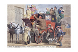 The 3 Browns Book'd for Brighton, and Only One Place, C1830 Giclee Print