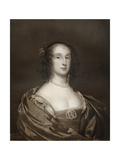 Bridget Fleetwood, Eldest Daughter of Oliver Cromwell, 17th Century Giclee Print by Cornelius Janssen van Ceulen