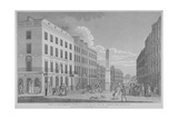 New Bridge Street, City of London, 1810 Giclee Print by Isaac Cruikshank