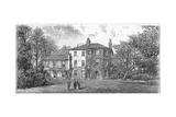 Down House, Near Beckenham, Kent, 1887 Giclee Print