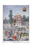 The Chinese Pavilion at the Universal Exhibition of 1900, Paris, 1900 Giclee Print