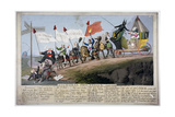 Queen Caroline's Procession Giclee Print by Theodore Lane