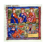 Council of Acre and the Siege of Damascus, 1147-1148 Giclee Print