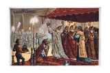 The Crowning of Charlemagne, 800 Ad Giclee Print