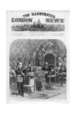 The Cover of the Illustrated London News, 8th May 1875 Giclee Print