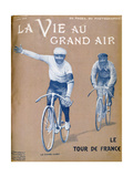 Tour De France, 17 July 1903 Giclee Print