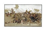 Battle of Issus, 333 BC Giclee Print