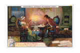 Mozart Working on the Overture for Don Giovanni, 1787 Giclee Print