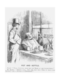 Pot and Kettle, 1868 Giclee Print
