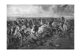 Battle of Waterloo, 1815 Giclee Print by Henri-Louis Dupray