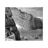 Jacob's Ladder Leading to Munden's Battery, Jamestown, Saint Helena, C1890 Giclee Print