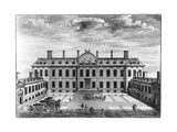 Montagu House, Bloomsbury, 18th Century Giclee Print