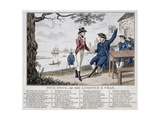 Dick Dock, or the Lobster and Crab, 1806 Giclee Print by Isaac Cruikshank