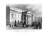 Theatre Royal Covent Garden, Westminster, London, 19th Century Giclee Print
