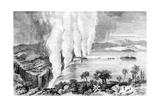 Victoria Falls, Africa, 1857 Giclée-tryk