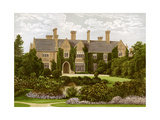 Oxley Manor, Staffordshire, Home of the Staveley-Hill Family, C1880 Giclee Print by AF Lydon