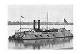 St Louis, Union Gunboat, American Civil War, 1861-1865 Giclee Print