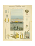 Equilibrium and Movement of the Air, C1851 Giclee Print