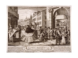 The Review..., Soho, London, 1750 Giclee Print