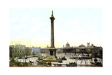 Trafalgar Square and Nelson's Column, London, 20th Century Giclee Print