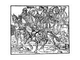 Janissaries, 1486 Giclee Print by Erhard Reuwich