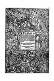 Title Page of the Great Bible, 1539 Giclee Print