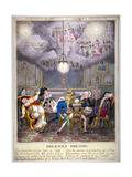 Delicious Dreams! Castles in the Air! Glorious Prospects!, 1821 Giclee Print by Theodore Lane