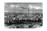 Bessbrook Mills and Village, County Armagh, Ireland, C1880 Giclee Print