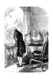 The Installation of George Washington as President of the United States, 1789 Giclee Print