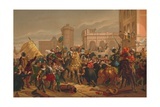 L'Entree D'Henri IV a Paris (The Entry of Henri IV into Pari), 1817 Giclee Print by Francois Pascal Simon Gerard