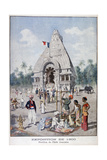 The French India Pavilion at the Universal Exhibition of 1900, Paris, 1900 Giclee Print