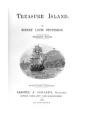 Title Page of Treasure Island by Robert Louis Stevenson, 1886 Giclee Print