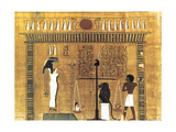 Funerary Papyrus, Ancient Egyptian, 18th Dynasty, 1550-1293 BC Giclee Print