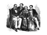 The Royal Family of Tahiti, 1864 Giclee Print