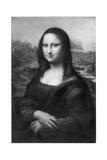 Mona Lisa, C1505 Giclee Print by  Leonardo da Vinci