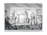 A Barber's Shop, 1784 Giclee Print by Henry William Bunbury