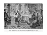 Galileo Facing the Inquisition, Rome, 1633 Giclee Print