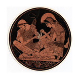 Achilles Bandaging the Wound of Patroclus, C1900 Giclee Print