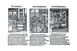 German Book Manufacture in the 16th Century Giclee Print by Jost Amman