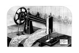 Wilson Sewing Machine, 1880 Giclee Print