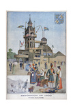 The Swedish Pavilion at the Universal Exhibition of 1900, Paris, 1900 Giclee Print