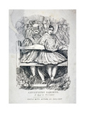 Kensington Gardens, a Hint to the Ladies, 1838 Giclee Print by Charles Dickens