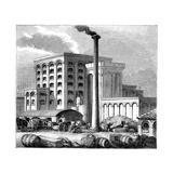 Sugar Refinery, Southampton, England, Which Opened in 1851 Giclee Print
