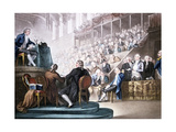 Louis XVI at the Bar of the National Convention, December 26th 1792 Giclee Print by Domenico Pellegrini