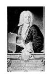 Jean Bernoulli, Swiss Mathematician, C1750 Giclee Print